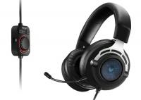 Rapoo - VPro 7.1 WH300 Gaming Headset - Blue LED Photo