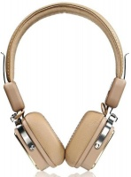Remax Wireless On-Ear Headphone with Microphones - Khaki Photo