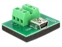 DeLOCK Mini USB F Terminal Block Photo