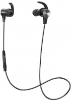 TaoTronics - IPX5 Wireless Bluetooth 5.0 Up to 9 Hours Battery In-Ear Headphones - Black Photo