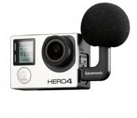 Saramonic G-Mic Mini Stereo Condenser Microphone for GoPro Hero4 Photo