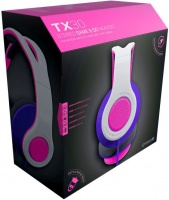 Gioteck TX-30 Multi Platform Stereo Game & Go Headset - Pink Photo