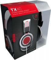 Gioteck TX-40 Multi Platform Stereo Gaming Headset - White/Black Photo