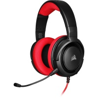 Corsair - HS35 Stereo Gaming Headset - Red Photo