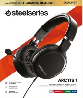 Steelseries - Wired Gaming Headset - Arctis 1 - Black Photo