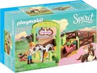 Playmobil - Spirit - Horse Box - Abigail and Boomerang Photo