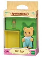 Epoch Sylvanian Families - Bear Baby Photo