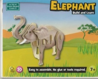 Wooden Puzzle - Elephant by The Green Board Game Company Toys Photo