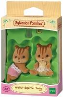 Epoch Sylvanian Families - Walnut Squirrel Twins Photo
