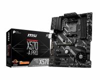 MSI X570-A PRO Socket AM4 ATX AMD X570 Motherboard Photo