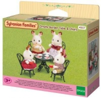 Epoch Sylvanian Families - Ornate Garden Table & Chairs Playset Photo