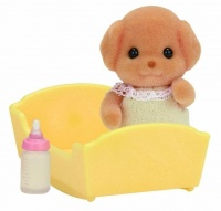 Epoch Sylvanian Families - Toy Poodle Baby Playset Photo