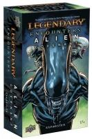 Upper Deck Entertainment Legendary Encounters - An Alien Deck Building Game - Alien Covenant Expansion Photo