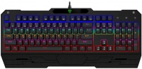 T Dagger T-Dagger Battleship Rainbow Mechanical Gaming Keyboard - Black Photo