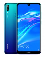 "Huawei Y7 2019 6.26"" 32GB Dual Sim Smartphone - Aurora Blue Photo"