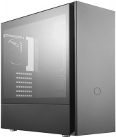 Cooler Master Silencio S600 Mid-Tower Tempered Glass Side Panel PC Chassis with 2x120mm Silencio Fans - Black PC case Photo