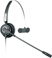Fanvil HT101 Noise-Cancellation Monaural Headset with Microphone - Black Photo