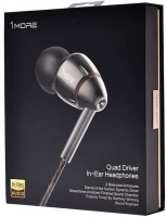 1MORE HiFi E1010 Quad Driver Hi-Res Certified 3.5mm In-Ear Headphones Photo