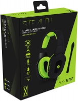 Stealth - SX Elite Stereo Gaming Headset - Black/Green Photo