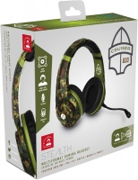 Stealth - Multiformat Camo Stereo Gaming Headset - Cruiser - Woodland Camouflage Photo