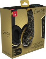 Stealth - Multiformat Abstract Classic Gold Stereo Gaming Headset - Black Photo