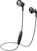 1More - Fitness E1018plus 6 React Sport IPX6 Bluetooth In-Ear Headphones - Space Grey Photo