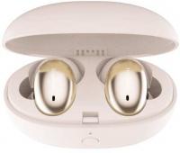 1More - Stylish E1026bT-I True Wireless Qualcomm Aptx Wireless Wireless In-Ear Headphones - Gold Photo