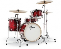 Gretsch CT1-J484-GCB Catalina Club Series 4 pieces Acoustic Drum Shell Pack 4 - Gloss Crimson Burst Photo