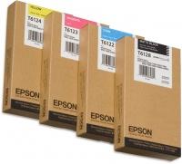 Epson T612400 220ml Singlepack Yellow Ink Cartridge Photo