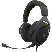 Corsair HS60 Pro 7.1 Surround Headset - Black & Yellow Photo