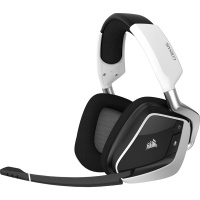 Corsair Void Elite RGB Wireless Dolby 7.1 Gaming Headset - White Photo