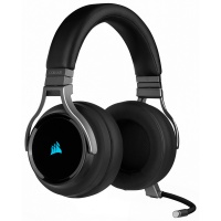 Corsair Virtuoso RGB Wireless Dolby 7.1 Gaming Headset - Black Photo