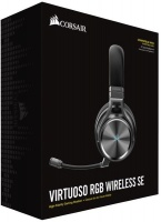 Corsair Virtuoso RGB Wireless Dolby 7.1 SE Gaming Headset - Gunmetal Grey Photo