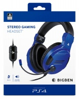 Bigben Interactive - Stereo Gaming Headset For PS4 - Blue Photo