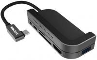 Kanex 6in1 USB-C iPad Docking Station - Space Grey Photo