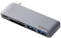 Kanex 5in1 USB-C Docking Station - Space Grey Photo