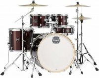 Mapex Storm Series 5 pieces Rock Acoustic Drum Kit with Hardware - Burgandy Photo