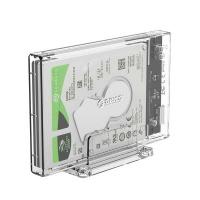 "Orico 2.5"" USB3.0 External Hard Drive Enclosure Transparent Photo"