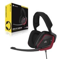 Corsair - VOID ELITE SURROUND Premium Gaming Headset with 7.1 Surround Sound - Cherry Photo