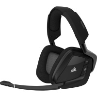 Corsair - VOID RGB ELITE Wireless Premium Gaming Headset with 7.1 Surround Sound - Carbon Photo
