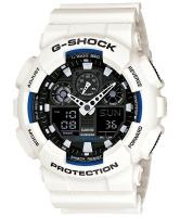 Casio G-Shock Analog and Digital Wrist Watch - White and Black Photo