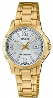Casio Stainless Steel Womens Analog Wrist Watch - Gold and Silver Photo