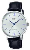 Casio Standard Ladies Collection Analog Wrist Watch - Silver and Black Photo