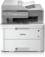 Brother DCP-L3551CDW Colour LED 3-In-1 Multi-Function Laser Printer - White and Grey Photo