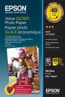 Epson - Value Glossy Photo Paper 10x15cm Photo