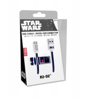SilverHT Tribe - Star Wars USB to Micro USB Sync&Charge Cable 22 cm - R2D2 Photo