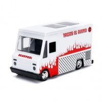 Jada Toys - 1/32 - Deadpool Taco Truck White Photo