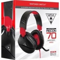 Turtle Beach - Recon 70 Wired Stereo Gaming Headset - Red/Black Photo