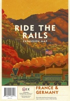 Capstone Games Ride the Rails - France & Germany Expansion Photo