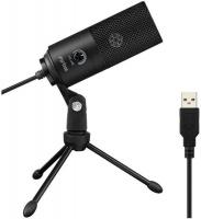 Fifine - K669B Cardioid USB Condenser Microphone with Tripod - Black Photo